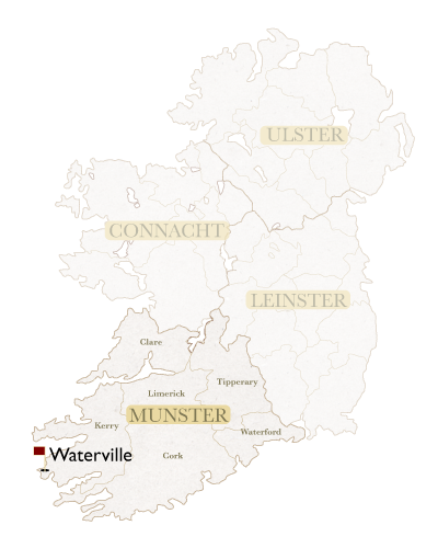 Irish Golf Academy Irish Map Waterville